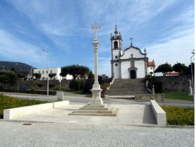 Igreja Matriz e Cruzeiro Paroquial